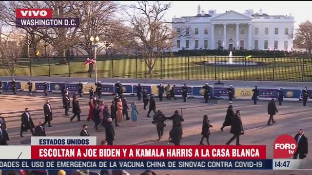 biden llega a la casa blanca tras homenajear a los soldados caidos