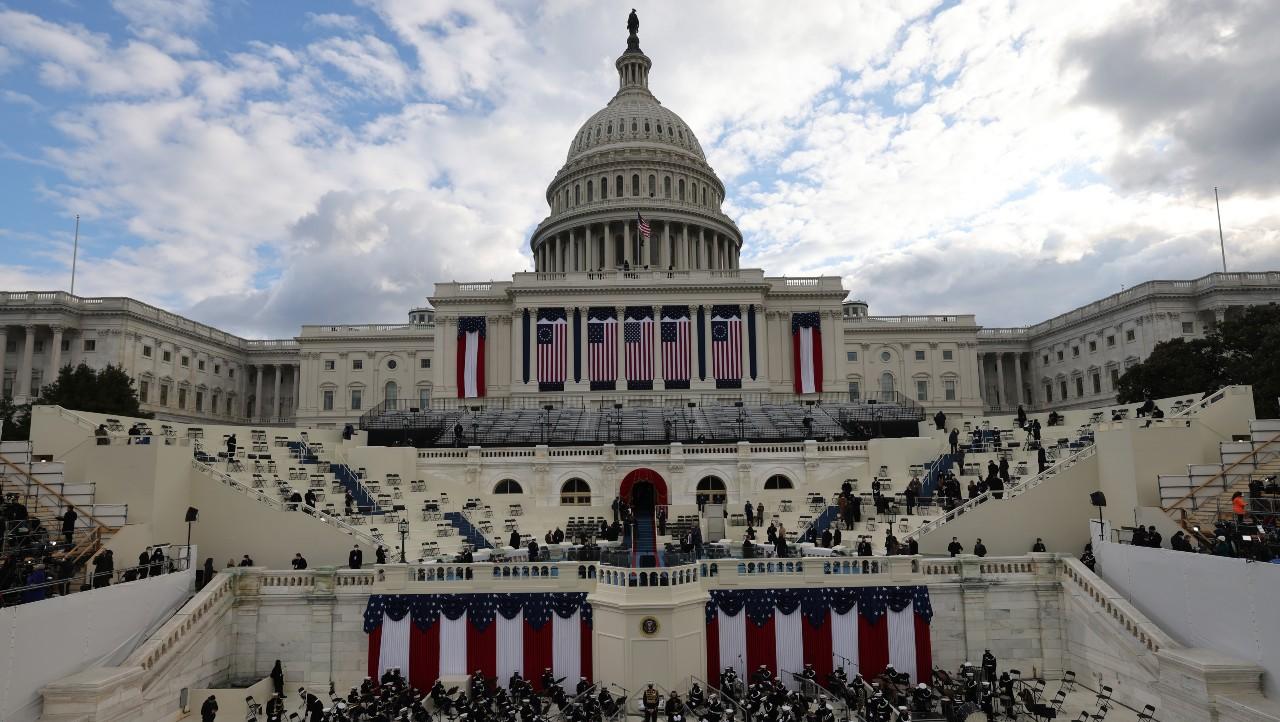 Todo está listo para ceremonia de juramentación de Biden