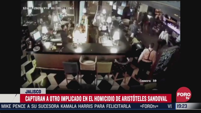 capturan a otro implicado en homicidio de aristoteles sandoval