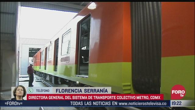 avances de la Línea 1 del sistema de transporte que reanudará operaciones a partir del próximo lunes 25 de enero