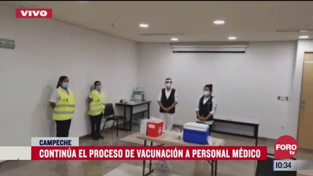 continua vacunacion contra covid 19 en campeche