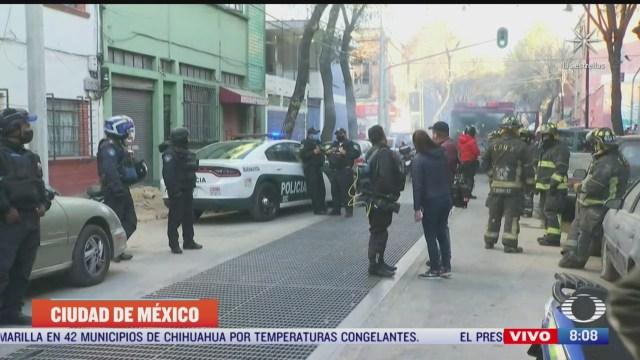 controlan fuga de gas natural en calles de la colonia guerrero cdmx