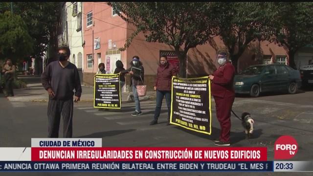 denuncian irregularidades de nuevos edificios tras sismo en cdmx