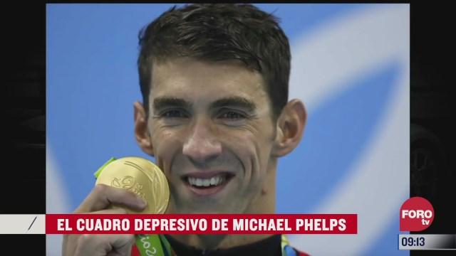 el cuadro depresivo de michael phelps