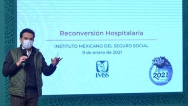 En ocho entidades IMSS realiza reconversión hospitalaria ante aumento de COVID-19