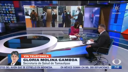 entrevista con gloria molina gamboa secretaria de salud de tamaulipas para despierta