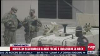estados unidos refuerza vigilancia ante toma de protesta de joe biden