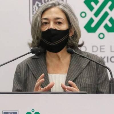 La directora del Metro de la CDMX, Florencia Serranía, informa los avances para la reanudación del servicio