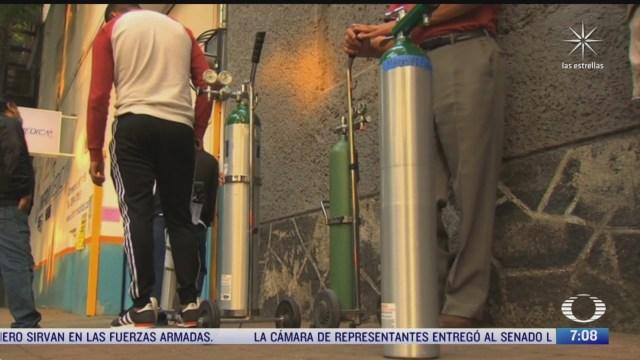 fraudes con tanques de oxigeno en mexico