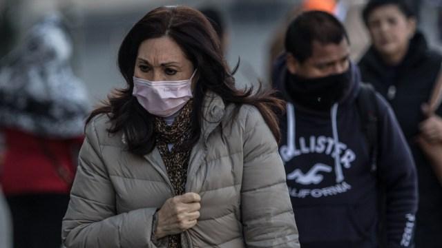 Se registran bajas temperaturas en la Ciudad de México
