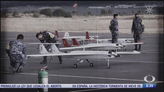 fuerza aerea mexicana usa drones contra el huachicol