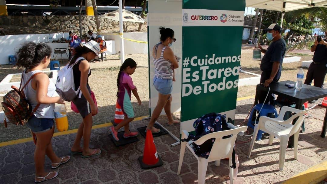 Guerrero espera días críticos por aumento de contagios de COVID-19