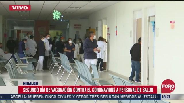 hidalgo establece 16 modulos de vacunacion covid