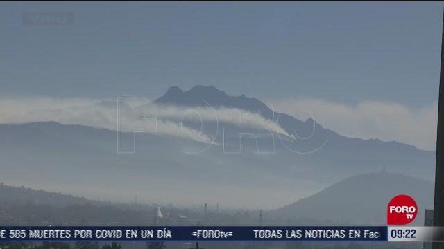incendio forestal en las faldas del volcan iztaccihuatl edomex