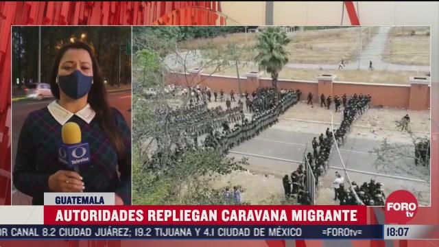 integrantes de nueva caravana migrante no descartan quedarse en mexico