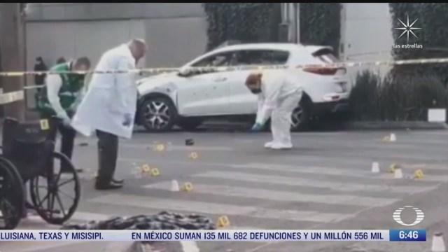 investigan asesinato de hombre en la colonia mixcoac cdmx