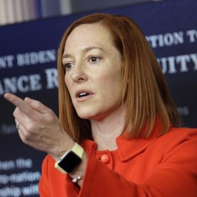 Jen Psaki, portavoz de la Casa Blanca
