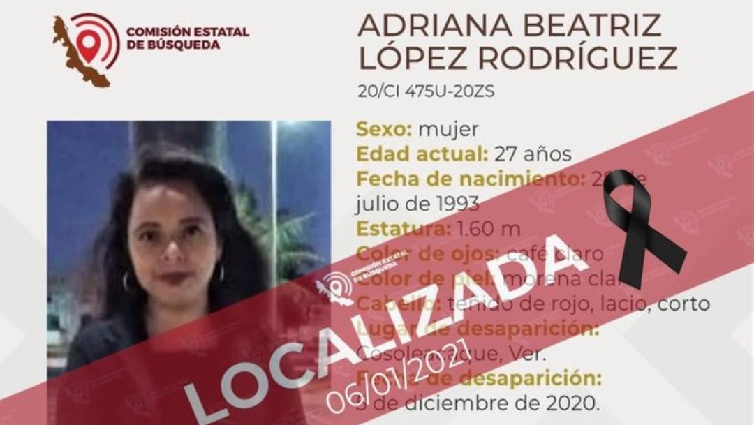 La joven fue hallada sin vida. Su familia busca justicia para su asesinato. (Twitter)