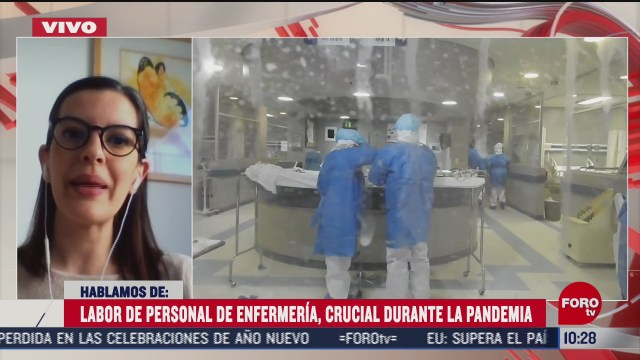 la labor de las enfermeras durante la pandemia covid