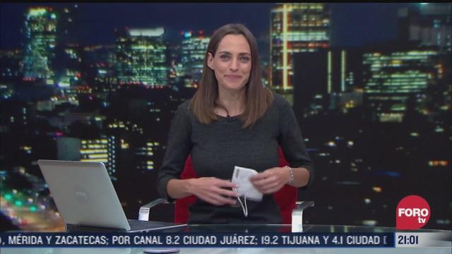 las noticias con ana francisca vega programa del 26 de enero de