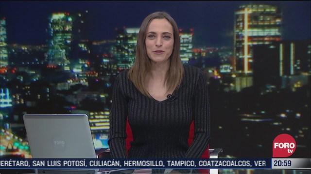 las noticias con ana francisca vega programa del 8 de enero de