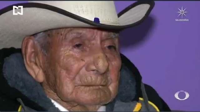 Manuel García Hernández, el hombre que ha vivido en tres siglos