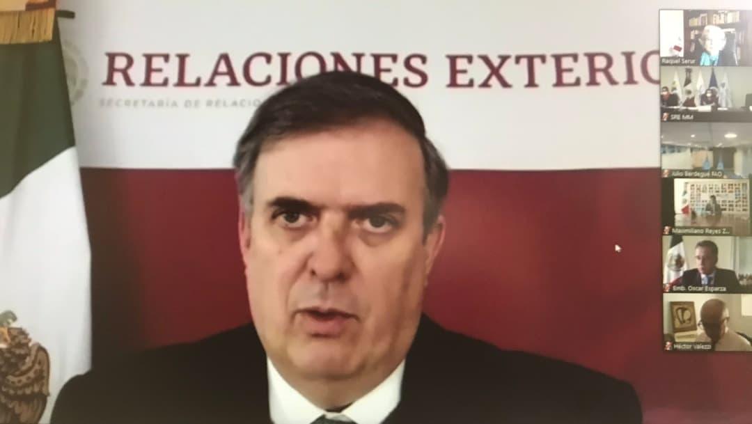 Marcelo Ebrard informa prioridades de México en reunión con embajadores y cónsules