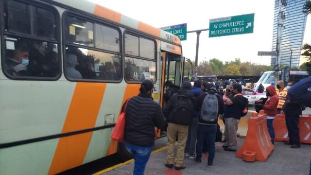 Metrobús, Trolebús, Mexibús y RTP suplen servicio del Metro por cierre de seis Líneas
