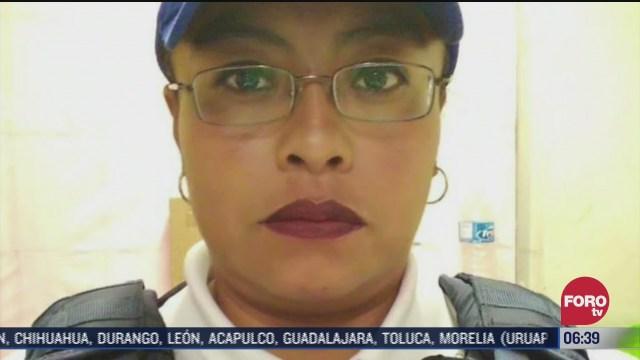 mujer policia logra reencuentro de nina extraviada en metro cdmx con su padre