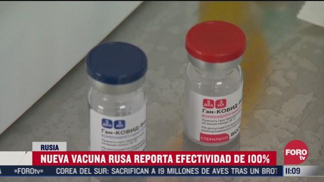 nueva vacuna rusa contra covid 19 reporta efectividad de
