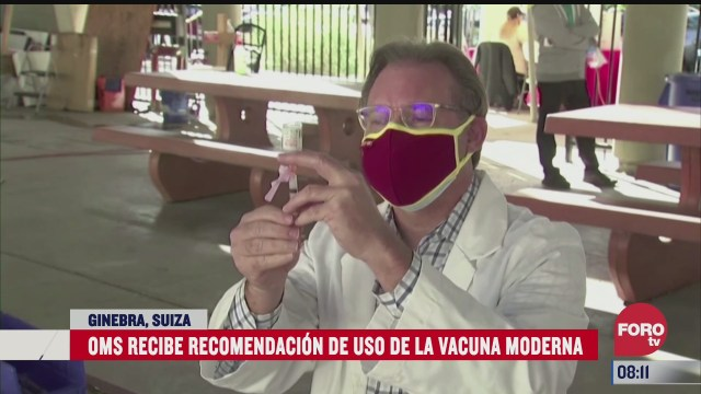 oms recibe recomendacion para el uso de la vacuna contra covid 19 de moderna