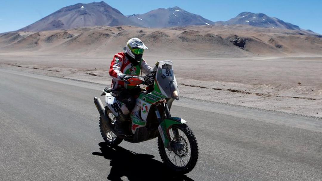 Muere motociclista francés, Pierre Cherpin, tras accidente en Rally de Dakar