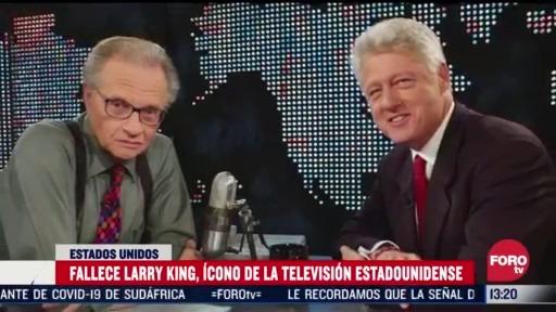 por que larry king fue un icono de la television de estados unidos