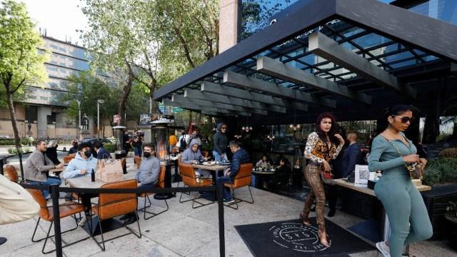 Restaurante en la Ciudad de México operarán al aire libre.