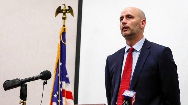Ryan Mears, fiscal del condado de Marion