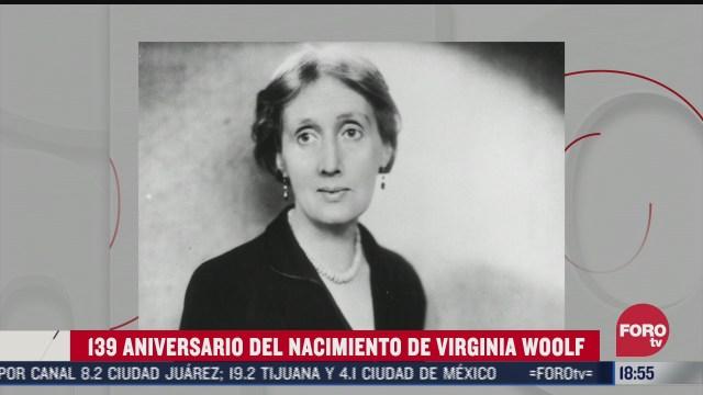 se cumplen 139 anos del nacimiento de virginia woolf
