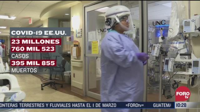 se elevan mas de 23 millones de nuevos casos covid 19 en ee uu