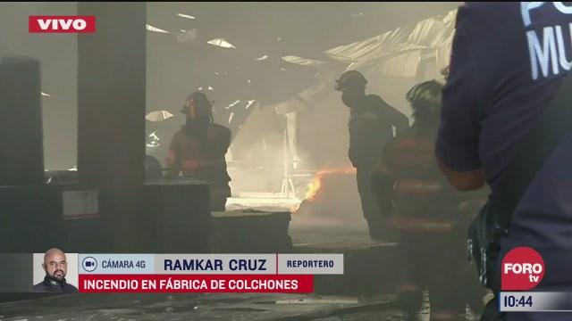 se incendia fabrica de colchones en ecatepec