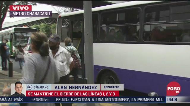 se reducen tiempos de espera de autobuses rtp tras cierre de lineas del metro