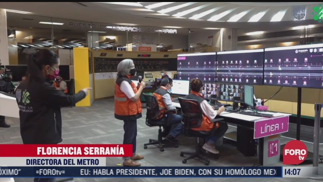 sheinbaum confirma que este lunes se restablecera el servicio en la linea 1 del metro