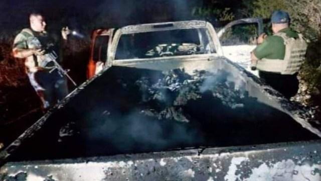 Hallan al menos 19 cuerpos y vehículos calcinados en el poblado de Santa Anita, en Tamaulipas