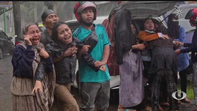 isla de Célebes, en Indonesia, quedó devastada después del sismo magnitud 6.2