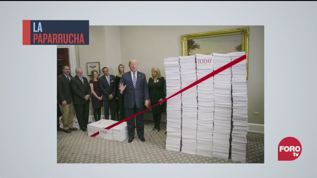 trump desclasifica documentos en ultimo dia de gobierno la paparrucha del dia
