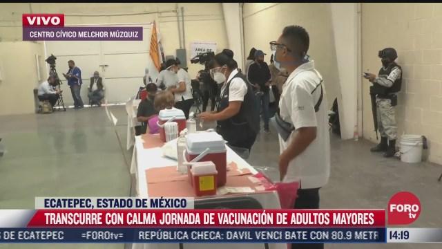 adultos mayores podran vacunarse en ecatepec si tienen familiares viviendo ahi