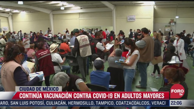 asi vacunaron a los adultos mayores en cdmx este domingo
