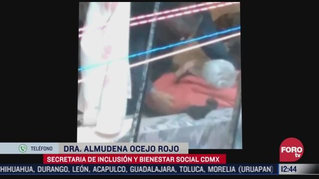 autoridades cdmx aplican dos protocolos en casos como el de la abuelita golpeada por su hijo en tlalpan