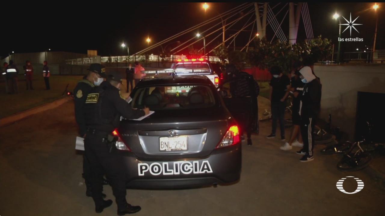 autoridades de peru endurecen el confinamiento por contagios de covid