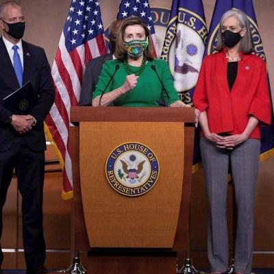 Cámara Baja de EEUU aprobó 1.9 billones de dólares para rescate económico por pandemia