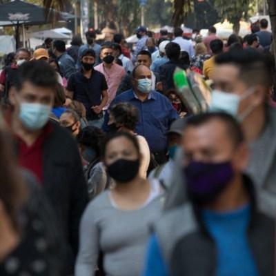Casos de COVID-19 en México el 27 de febrero 2021