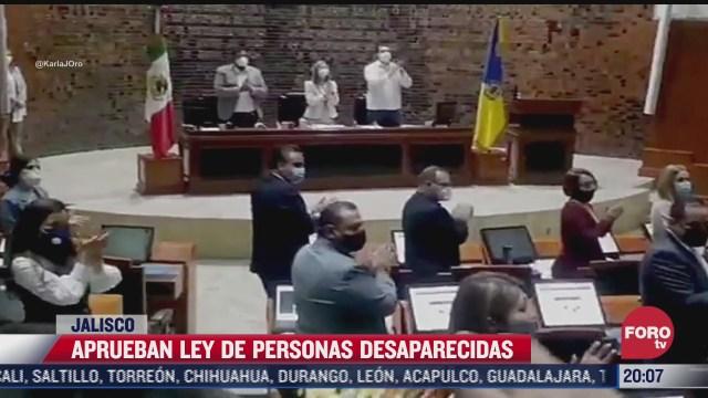 congreso de jalisco aprueba ley de personas desaparecidas